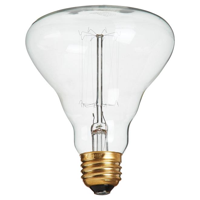 Ampoule incandescente BR30 40 W de style rétro