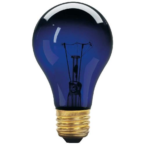 Globe Incandescent Black Light Bulb -A19 - E26 - 75W - Black