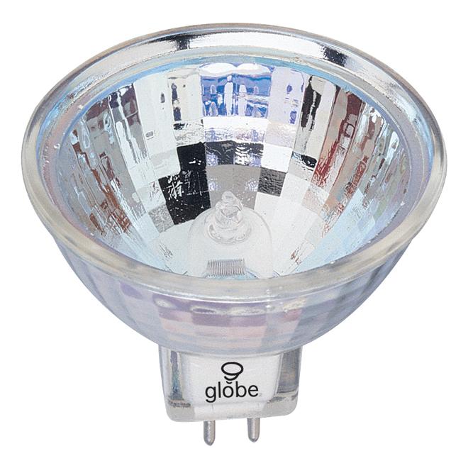 Ampoule halogène Globe, MR16, GU5.3, 50 W, clair, 3/pqt