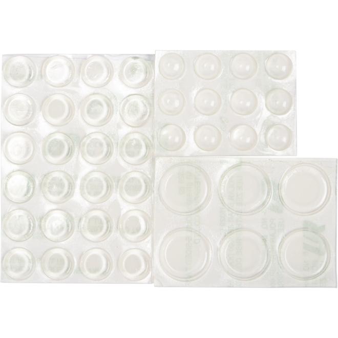 Protecteurs de surface en vinyle, transparent, 42/pqt