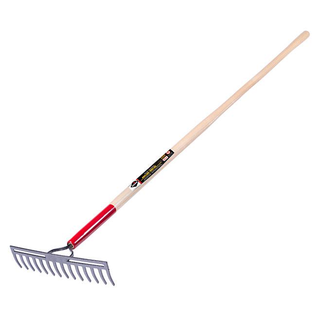 Double back level rake