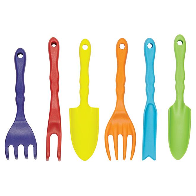Ensemble d'outils à jardin pour enfant