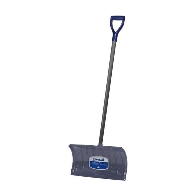 "Shovel - Snow Pusher - 21"" - Polypropylene - Grey"