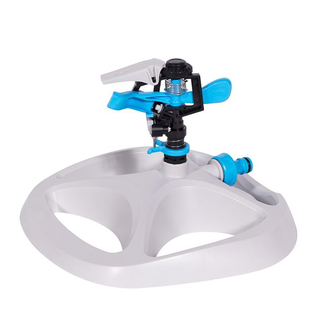 Rotating Impact Sprinkler on Base - Plastic