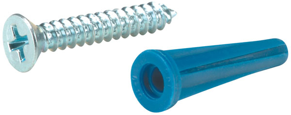 "1 1/2"" Zinc-Coated Gutter Hook Screws"