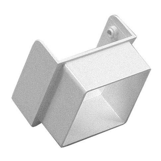 Contemporary Vinyl Square Downspout Diverter
