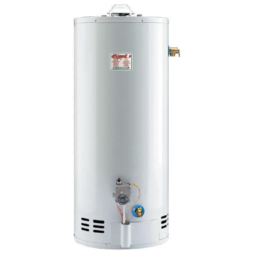 Gas Water Heater 40 Gal - 38 000 BTU - White