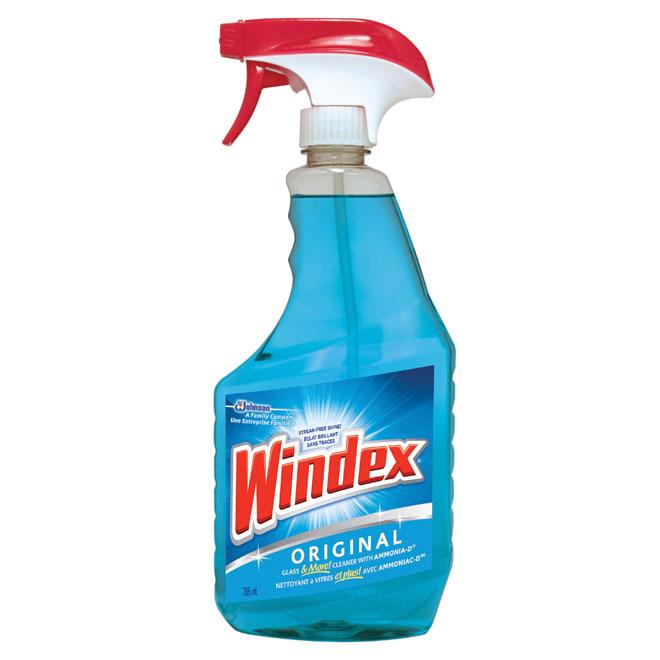 Windex Original Glass Cleaner - 765 ml