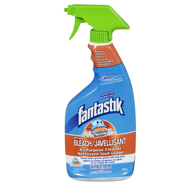Nettoyant tout usage avec javellisant, vaporisateur, 650 ml