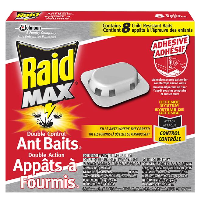 Ant Baits - Double Control - 8/Pk