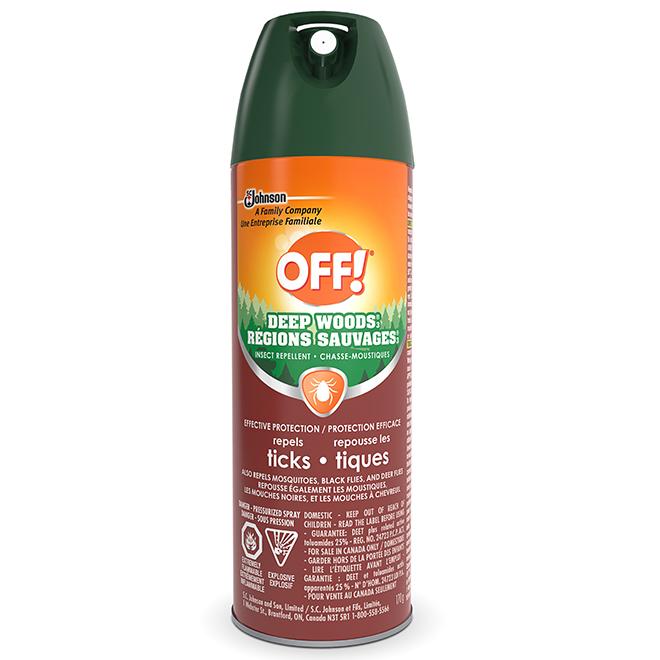 Chasse-moustique, protection contre les tiques, 170 g