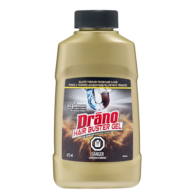 Débouche-tuyaux Drano(MD) Hair Buster(MC), gel, 473 ml