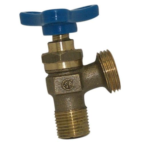 "1/2"" Threaded Brass Boiler Sediment Faucet"
