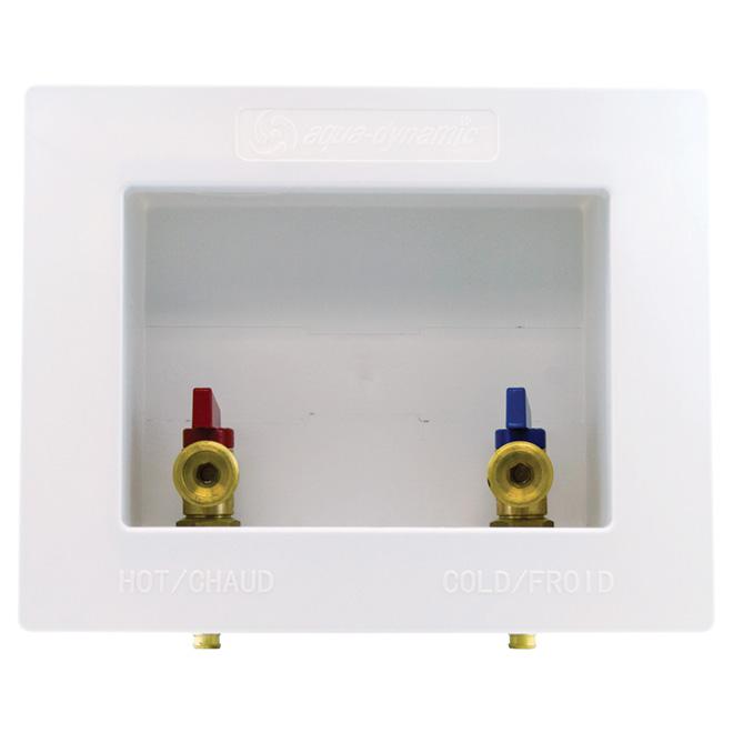 OUTLET BOX WASH.MACHINE W/VLV