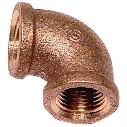 """Elbow - Lead-Free Brass - 90° - 1/2"""" x 1/2"""" - FIP x FIP"""