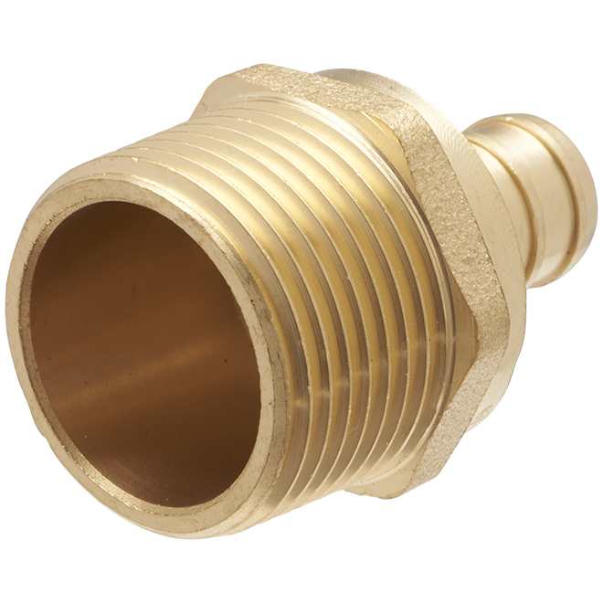 "Lead Free PEX Insert Male Adapter - 1/2"" x 3/4"""
