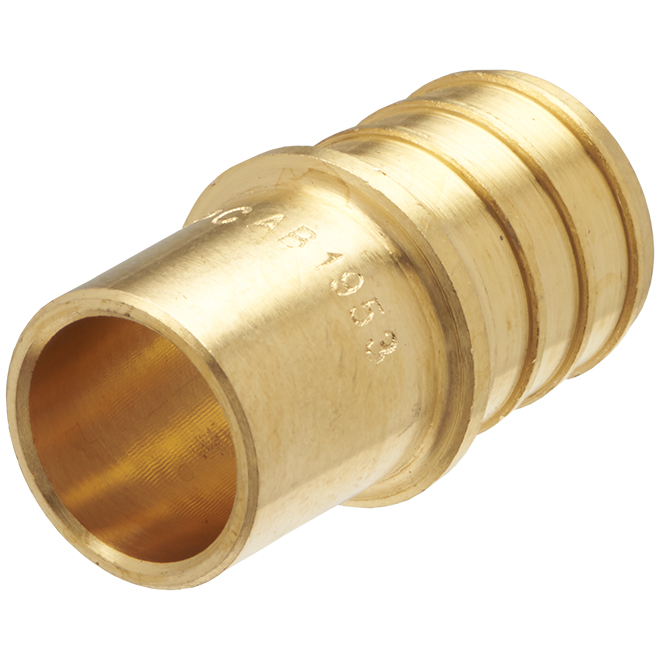 """PEX Male Adapter with Copper - 3/4"""" x 1/2"""""""