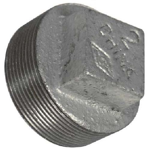 Galvanized Square Head Plug