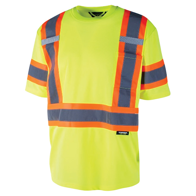 High Visibility Short Sleeve Shirt - 2XL - Yellow