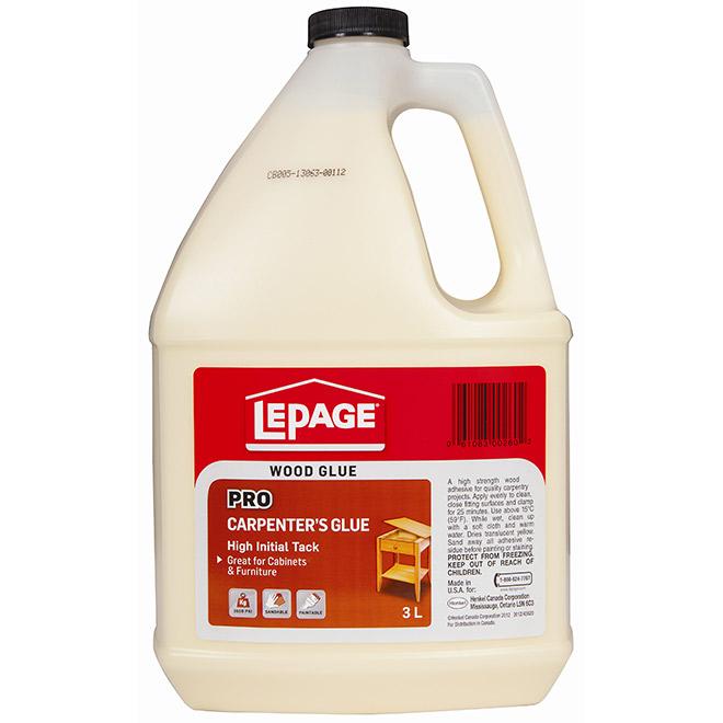LePage Pro Carpenter's Glue - 3 L