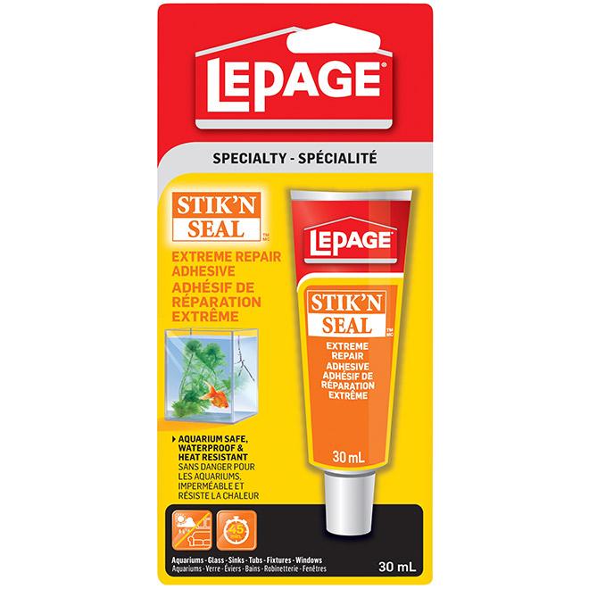 LePage Stik'N Seal Extreme Repair Adhesive - 30 mL