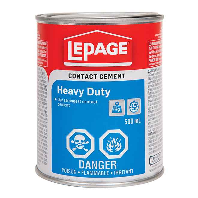 LePage Heavy Duty Contact Cement - 500 mL