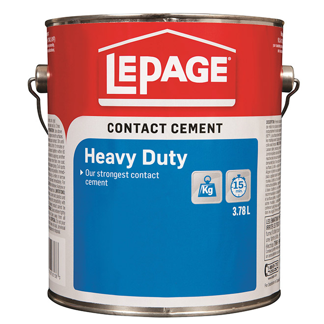 LePage Heavy Duty Contact Cement - 3.8 L