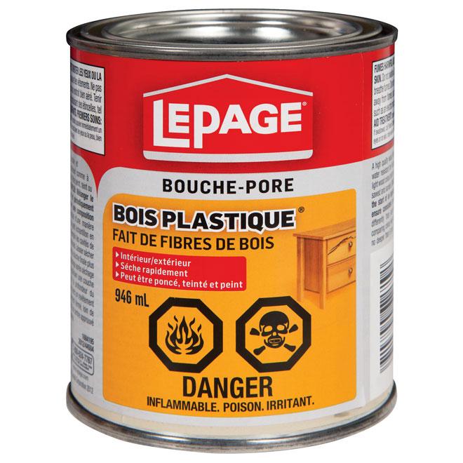Bouche-Pore «Bois Plastique»