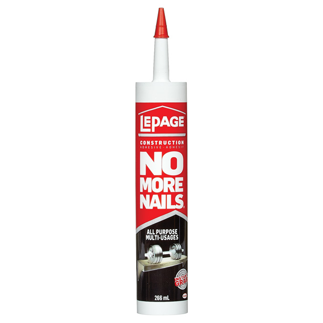 Adhésif multi-usages No More Nails, blanc, 266 ml
