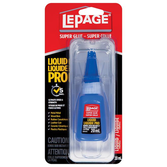 LePage Liquid Pro Super Glue - 20 ml - Clear