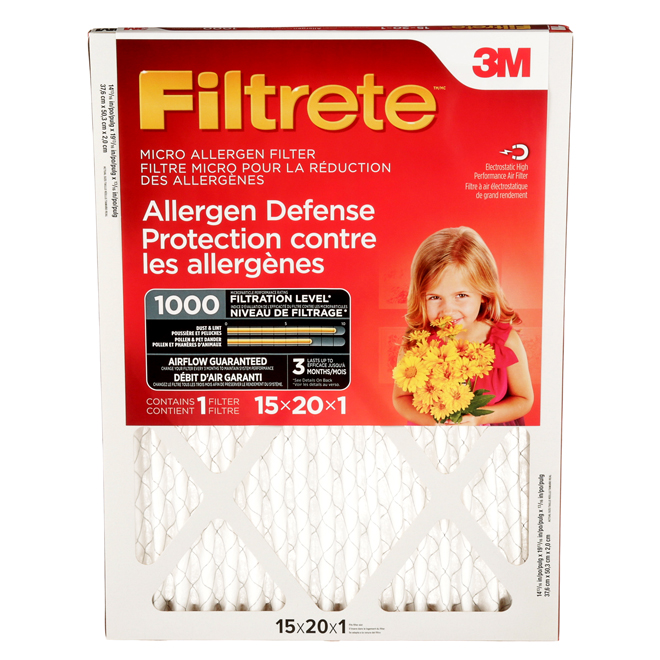 Filtre à air « Filtrete »