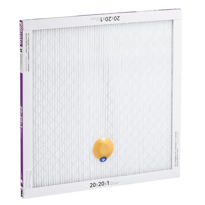 Filtre à air intelligent Filtrete par 3M, 20 po x 20 po x 1 po, 1500 MPR