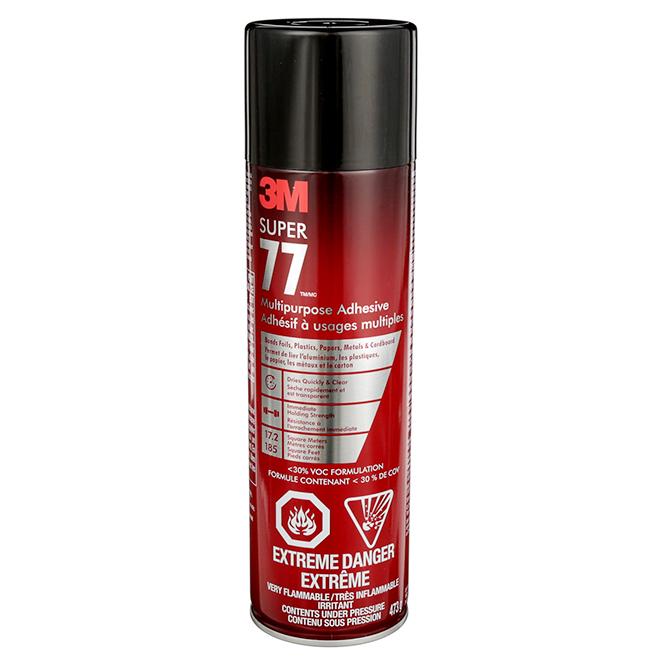Adhésif à usages multiples, 473 g, rouge