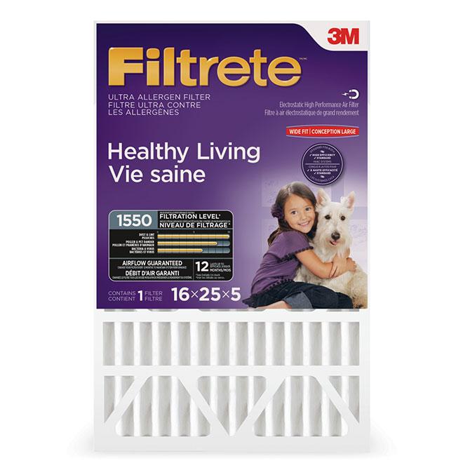 Furnace Filter - Ultra - 16'' x 25'' x 5'' -