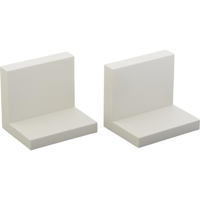 """Display Shelves - 4"""" x 3"""" x 3.5"""" - Quartz - Set of 2"""