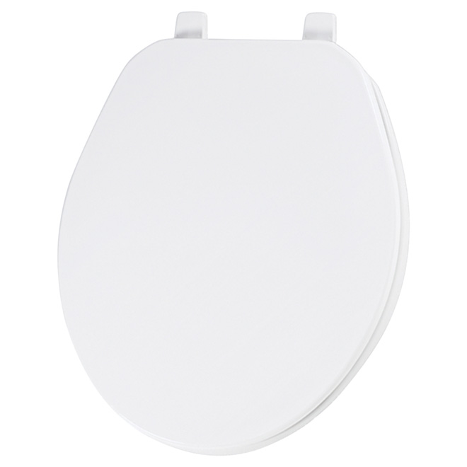 Plastic Toilet Seat - Regular - White