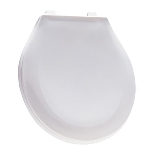 Siège de toilette en plastique, régulier, blanc Crane