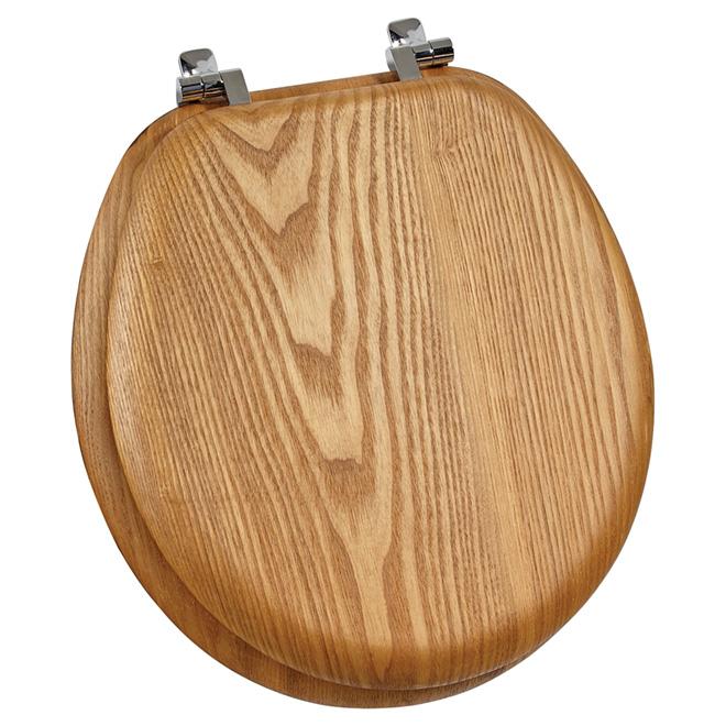 Regular Toilet Seat - Natural Oak