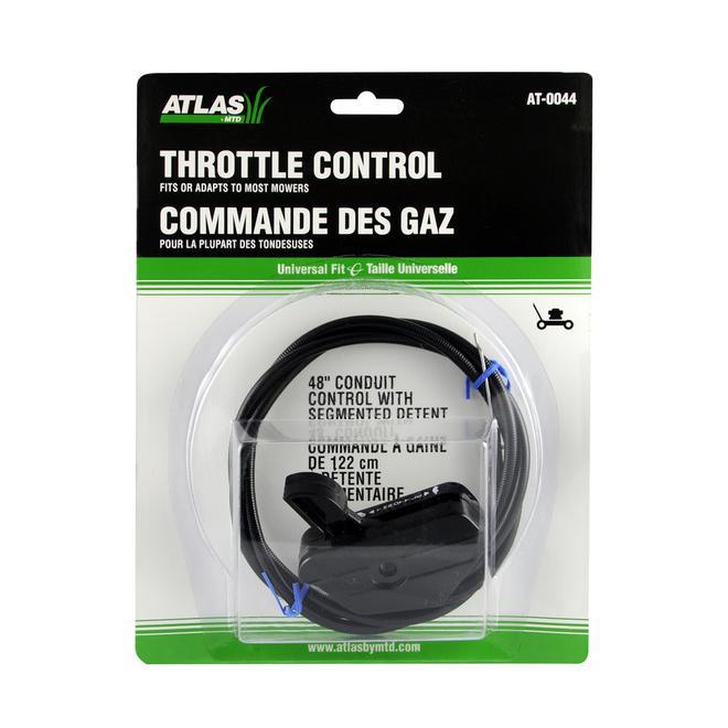 Lawn Mower Throttle Control - 48