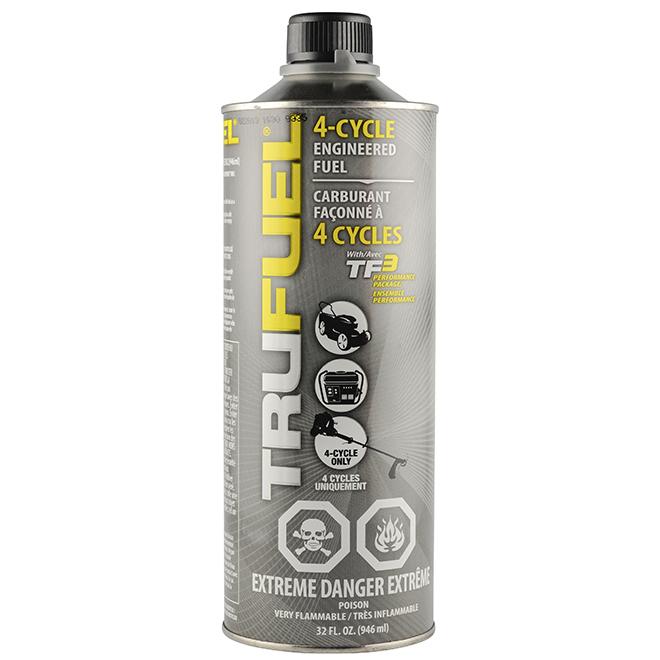 Carburant pour moteurs 4 temps sans éthanol TruFuel, 946 ml
