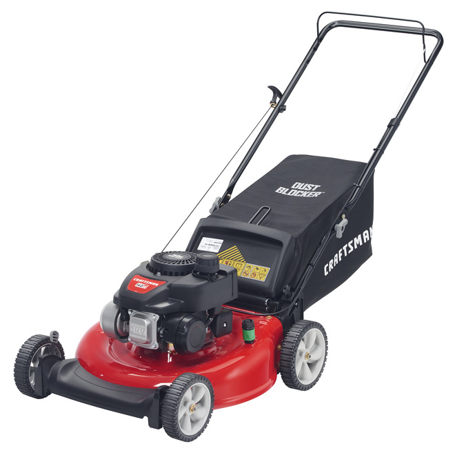 "Gas Push Mower - 21"" - 140 cc - Red"