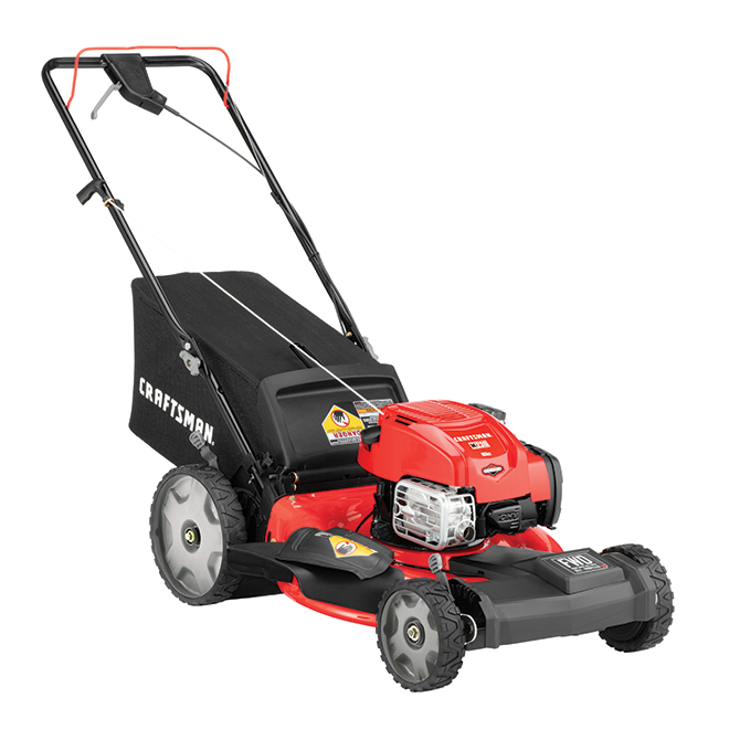 Craftsman(R) - Mower - 163 cc - 21'' - Steel - Red
