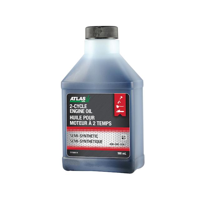 Huile à moteur 2 temps Atlas semi-synthétique, 190 ml