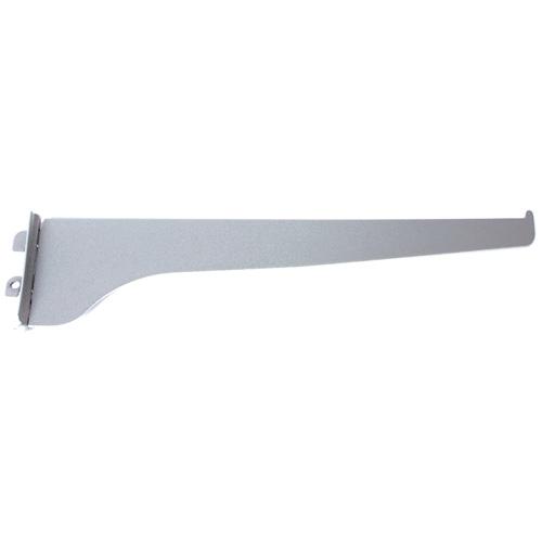 "Steel Single Shelf Bracket - 16"" - Titanium"