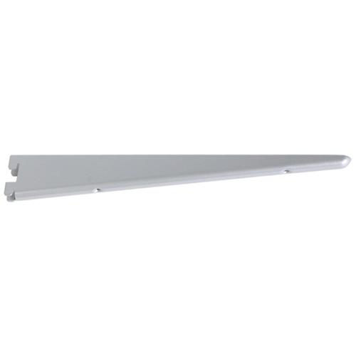 "Steel Double Shelf Bracket - 14 1/2"" - Titanium"