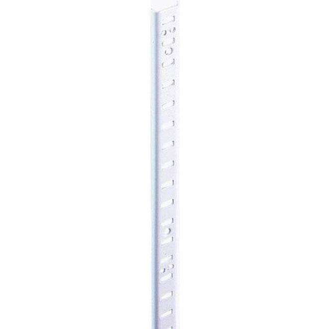 """Steel Pilaster - 48"""" - White"""