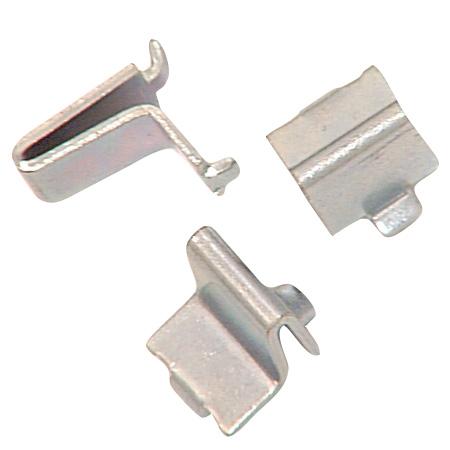 Support de tablette en acier au fini zinc, 12 unités