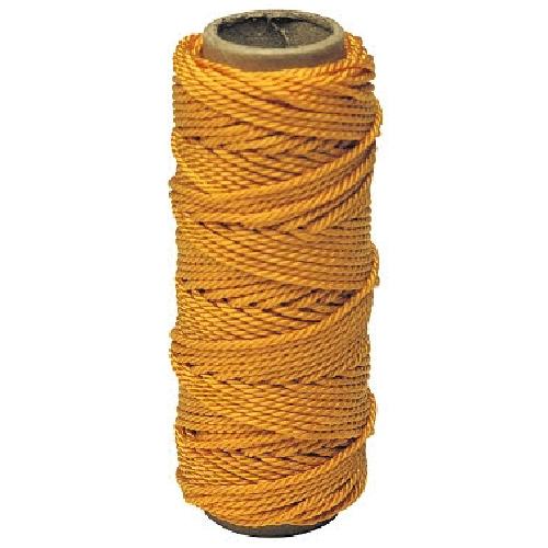 Corde de ligne tressée Irwin, nylon, 270 pi, orange
