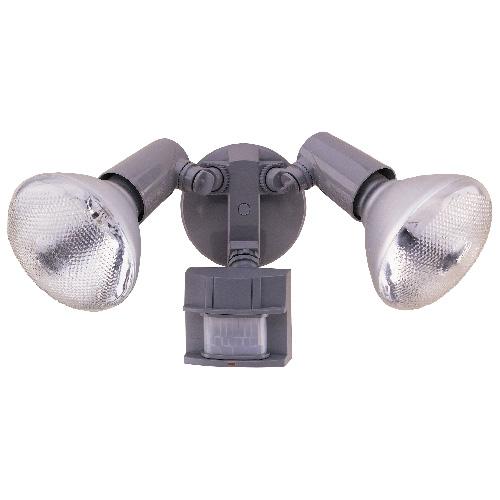 2-Light Weatherproof Halogen Lamp