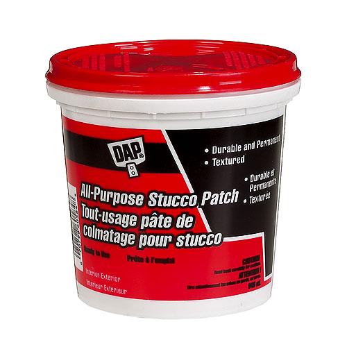 Pâte de colmatage tout usage pour stucco, 946 ml, blanc
